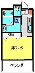 ビューサイト横浜[8階]の間取り