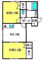 メゾンN−1[103号室]の間取り