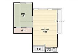 讃井ビル[6階]の間取り