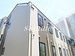 東京都北区浮間2の賃貸アパートの外観