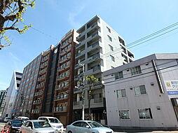 北海道札幌市中央区北二条東3丁目の賃貸マンションの外観