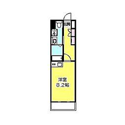 日吉セントラルアネックス[309号室]の間取り
