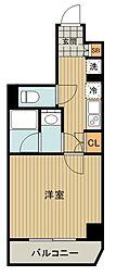 都営三田線 高島平駅 徒歩10分の賃貸マンション 7階1Kの間取り