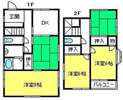 [一戸建] 埼玉県さいたま市西区大字中野林 の賃貸【/】の間取り