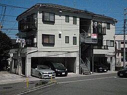 神奈川県横浜市栄区鍛冶ケ谷町の賃貸アパートの外観