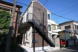 神奈川県横浜市鶴見区平安町1丁目の賃貸アパートの外観