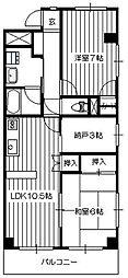 タトヨビル[5階]の間取り