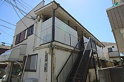 千葉県市川市東菅野1丁目の賃貸アパートの外観