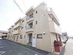 神奈川県厚木市岡田1丁目の賃貸マンションの外観