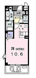 セントラル ヴィレッジ[3階]の間取り