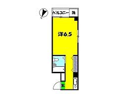 エクセレント21[3階]の間取り