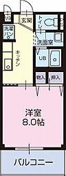 愛知県知多郡阿久比町大字草木の賃貸アパートの間取り