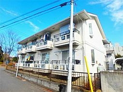 東京都多摩市落合1丁目の賃貸アパートの外観