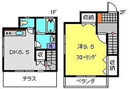 [テラスハウス] 神奈川県横浜市戸塚区吉田町 の賃貸【/】の間取り