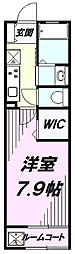 東京都八王子市子安町4丁目の賃貸アパートの間取り