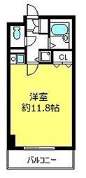 フォルトゥ−ナ桜木[2階]の間取り