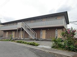 愛知県豊田市駒場町東埜中の賃貸アパートの外観