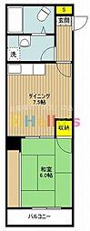 志村エステート[2階]の間取り
