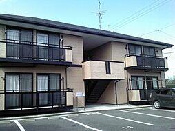 静岡県焼津市田尻北の賃貸アパートの外観