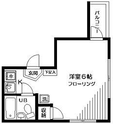 シャンブルIS[3階]の間取り