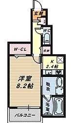 モンテローザ[1階]の間取り