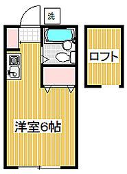 シャトー分梅[2階]の間取り