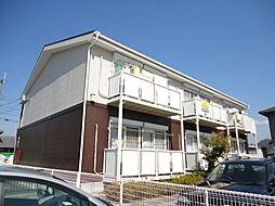 滋賀県米原市下多良3丁目の賃貸アパートの外観