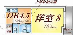 兵庫県神戸市兵庫区氷室町2丁目の賃貸アパートの間取り