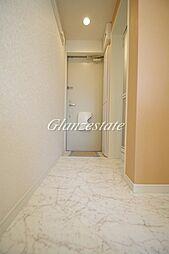 ユナイト武蔵小杉クリーブランドの杜の玄関