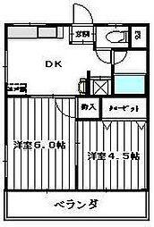 長久保マンション[3階]の間取り