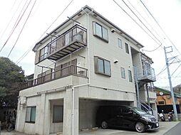 神奈川県横浜市栄区鍛冶ケ谷1丁目の賃貸アパートの外観