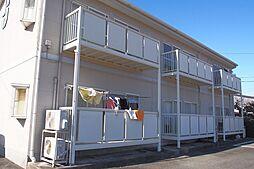 静岡県牧之原市仁田の賃貸アパートの外観