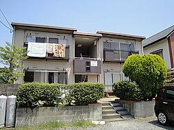 福岡県福岡市城南区東油山3丁目の賃貸アパートの外観