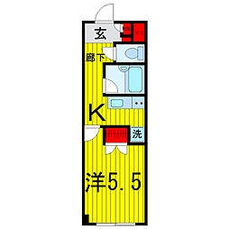 SKK−VIII[3階]の間取り