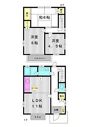 [テラスハウス] 東京都練馬区早宮3丁目 の賃貸【東京都 / 練馬区】の間取り