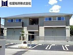 愛知県豊橋市井原町の賃貸アパートの外観