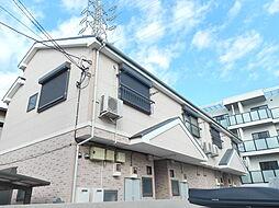 千葉県市川市新田4の賃貸アパートの外観