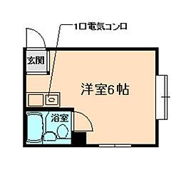 サンシャイン豊中I[3階]の間取り