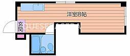 マノールビル/[4階]の間取り