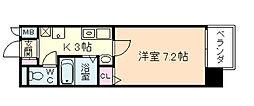 マインズ・コム新北野[8階]の間取り