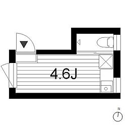 AN6557[3階]の間取り