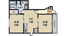 ゾーナヴェルデ[1階]の間取り