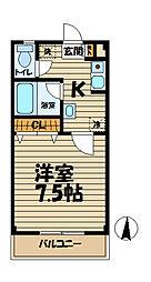 アリス鎌倉[305号室]の間取り