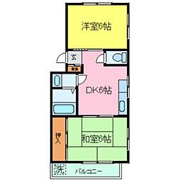 レイシットマンション[3階]の間取り