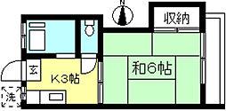 スカイライト[1階]の間取り