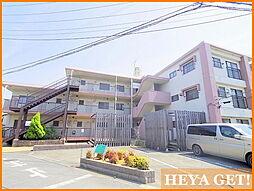 東京都昭島市朝日町2丁目の賃貸マンションの外観