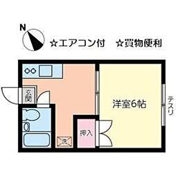 ふじよしビル[2階]の間取り