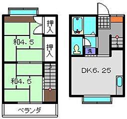 [テラスハウス] 神奈川県横浜市旭区本村町 の賃貸【/】の間取り