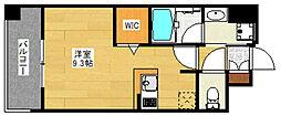 エンクレスト博多STYLE[7階]の間取り