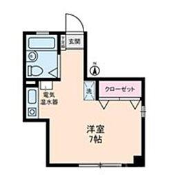 亀戸東口エトワールM・K[202号室]の間取り